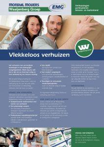 Mondial Waaijenberg Verhuizers zorgt voor een vlekkeloze verhuizing