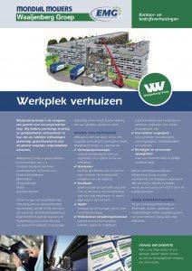 Mondial Waaijenberg Verhuizers is gespecialiseerd in bedrijfsverhuizingen