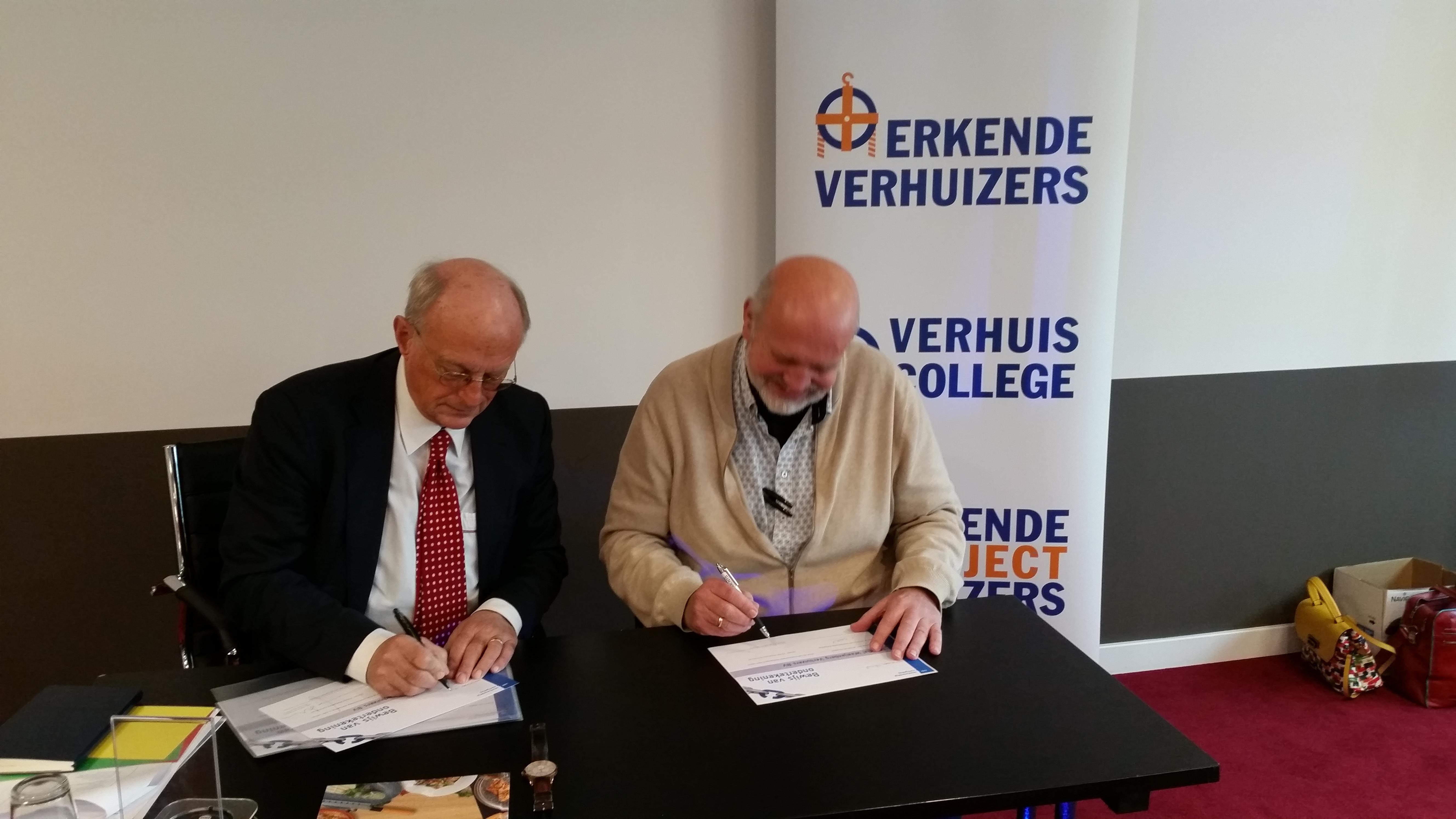 Mondial Waaijenberg Verhuizers ondertekent brede Code Verantwoordelijk Marktgedrag